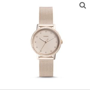 Fossil Neely Stainless Steal Watch